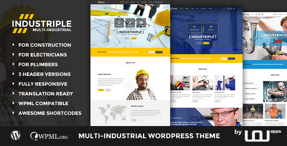 WordPress Industrial Themes