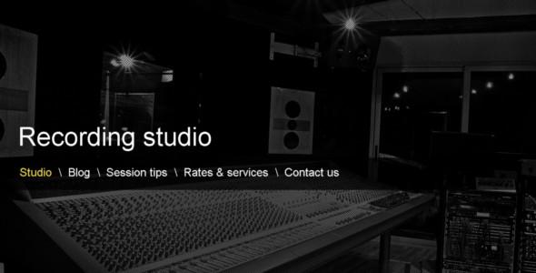 WordPress Music Database Template