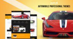 22+ Responsive Automobile Website Templates