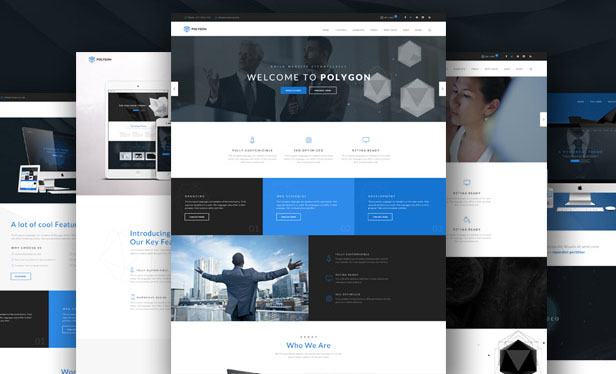 new responsive wordpress theme