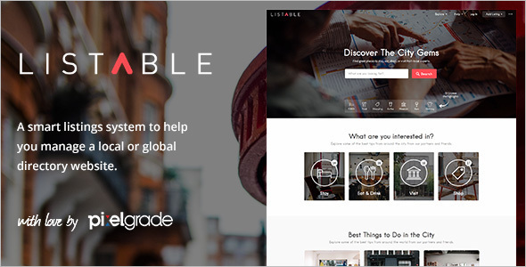 riendly Directory WordPress Theme