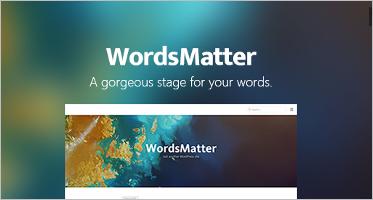 One Column WordPress Themes