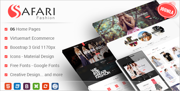 Responsive Multipurpose VirtueMart Joomla Theme