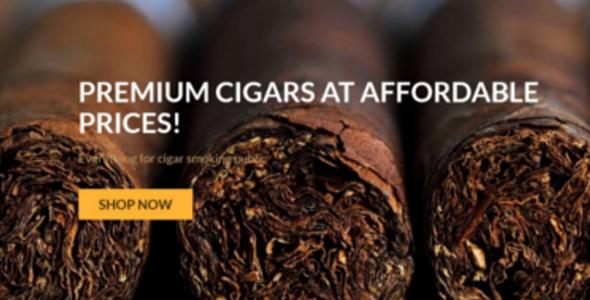 Responsive Tobacco VirtueMart Theme
