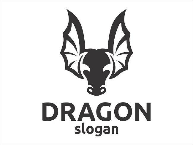 Angry Dragon Logo Design