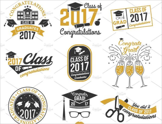 Digital Responsive Graduation Card Template