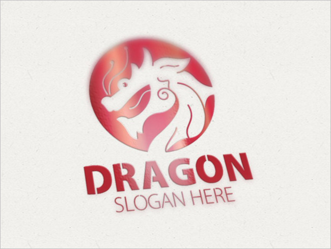 Dragon Responsive Multi-Logo Design