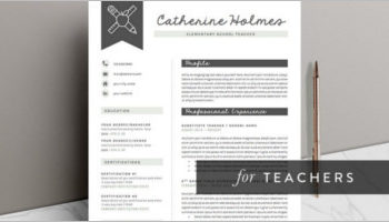 29+ Teacher Resume Templates