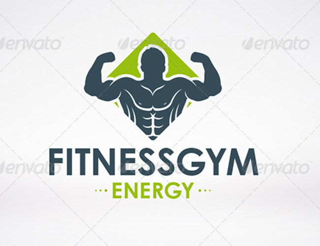Gym Logo Design Templates