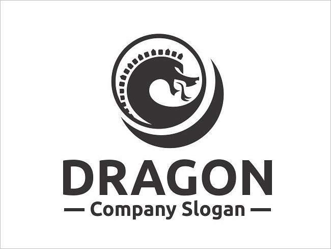 Dragon Reactive Logo Template