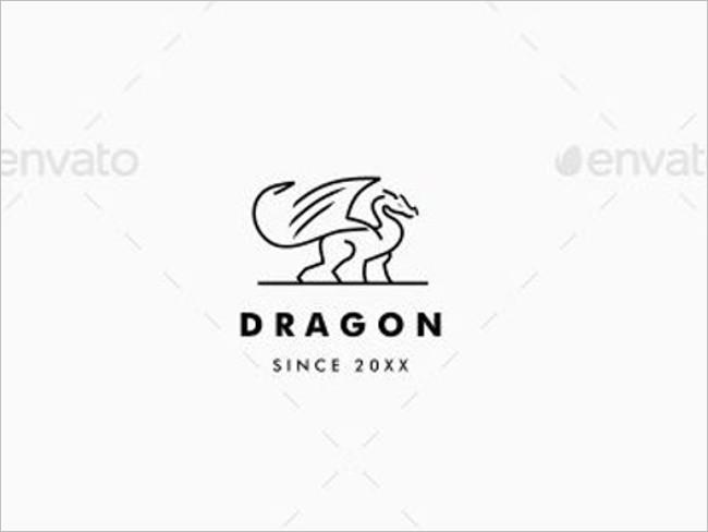 Gamer Dragon Logo