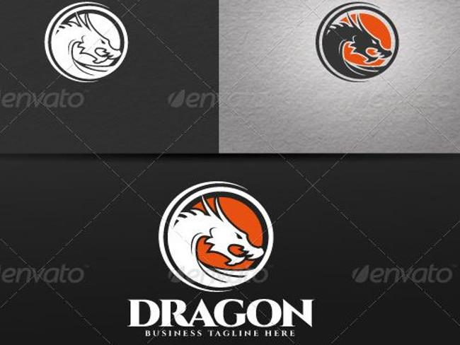 Draco's Logo Template