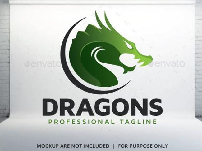 Wine Dragon Logo