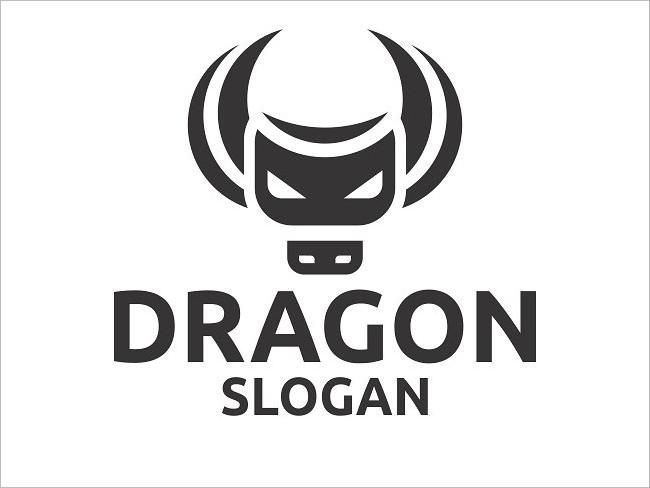 Main Dragon Logo Design Template