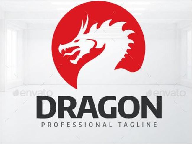 Pink Dragon Logo