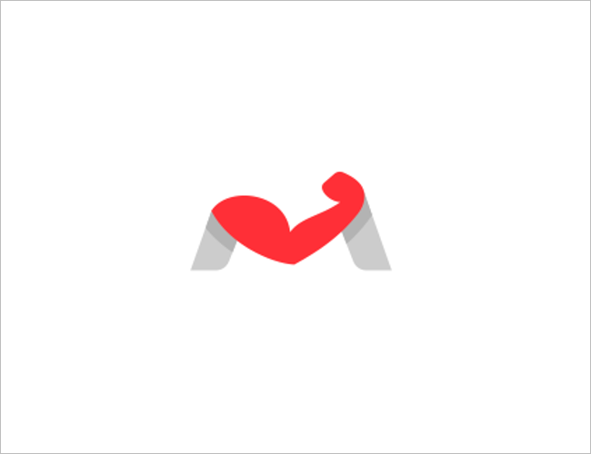 Fitness Muscle Logo Design