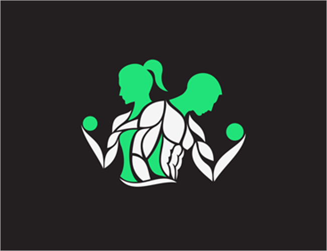 Human Gym Logo Design