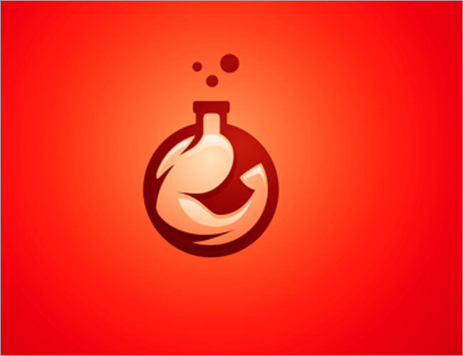 Red Arm Gym & Fitness Logo Design