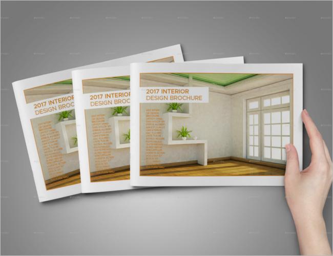 A5 Landscape Interior Brochure