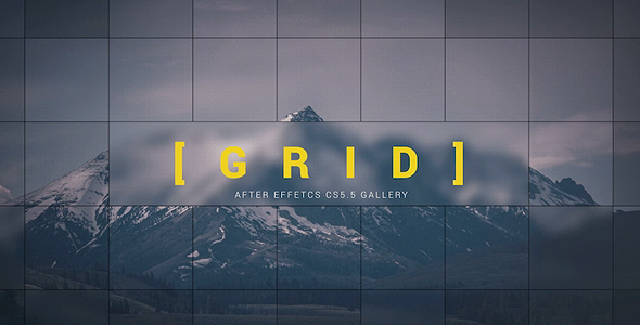 After Effects Preset Gallery Template