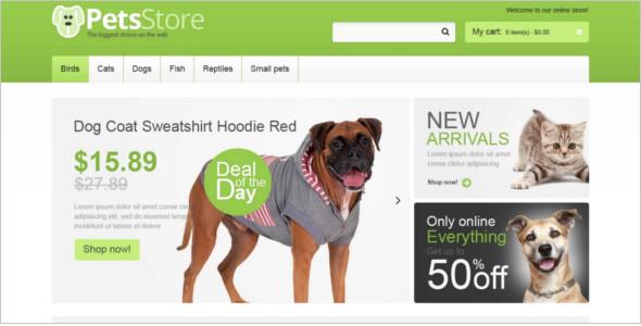 Animal Store Magento Theme