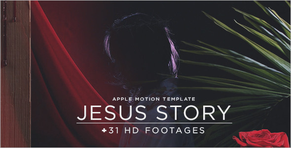 Apple Motion Story Template