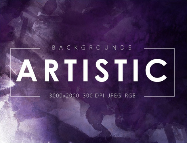 Artistic Backgrounds Banner Templates