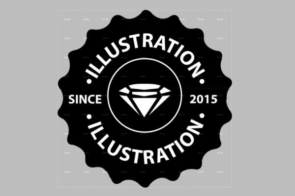 Badges & Stickers Design Model