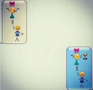 Balloon Emoji Story Design