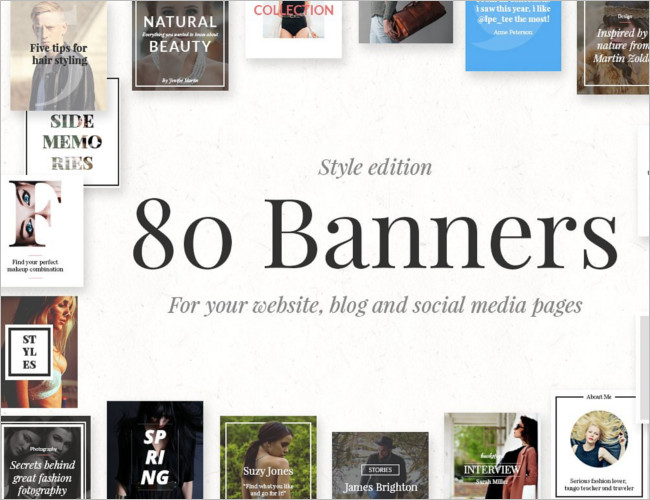 Banners Style Edition Banner Design