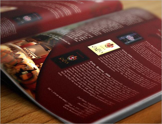 Basic Wine Brochure Template
