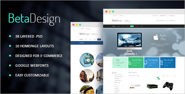 Beatiful Website Design Theme