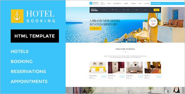 Best Hotel Retail Website Theme