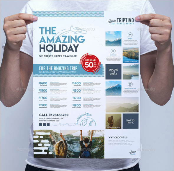 Best Travel Poster Template
