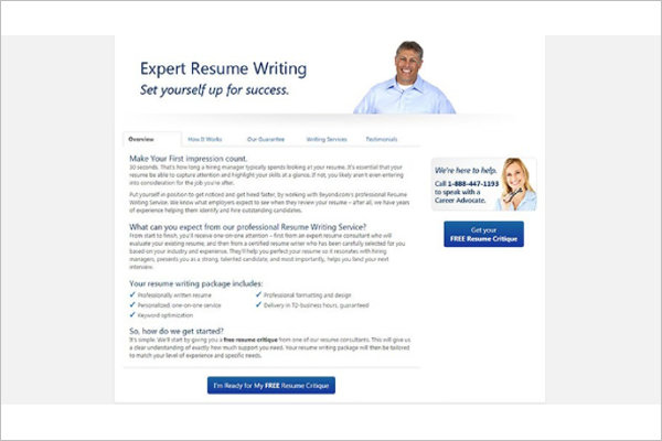 Beyond Expert Resume Builder Template