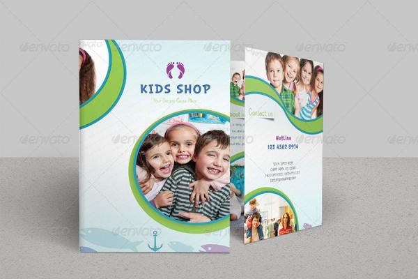 Bi-Fold-Kindergarten-Brochure