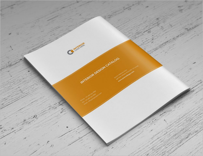 Bifold Interior Brochure Design