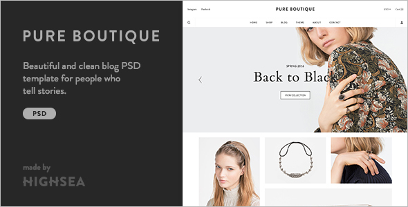 Boutique Accessories WooCommerce Template