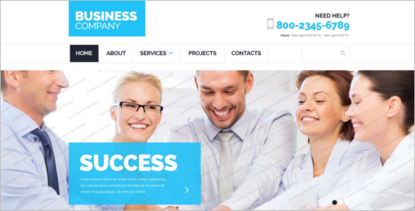 Business HTML 5 Website Template