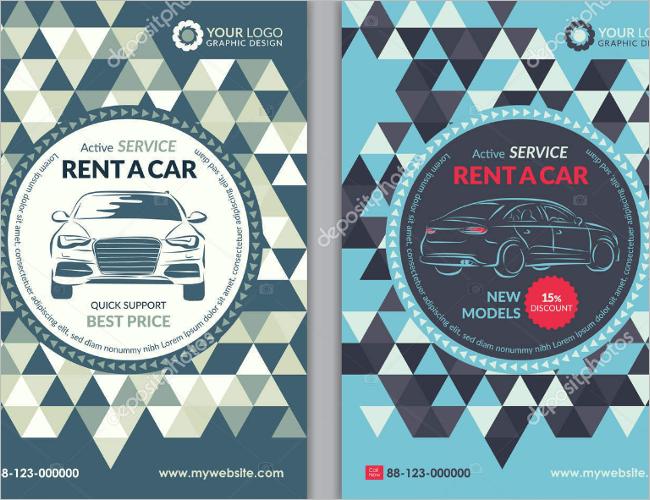 Car Business Flyer Designs