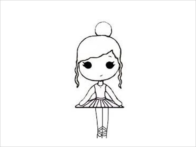 Chibi Template Drawing Design