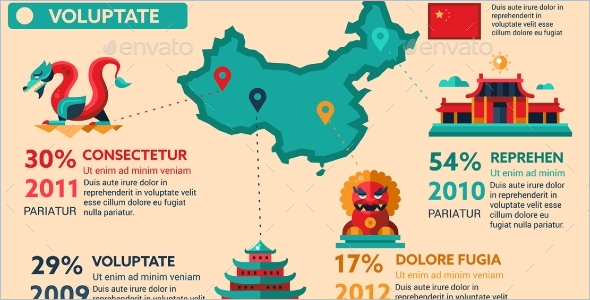 China Travel Brochure Cover Template
