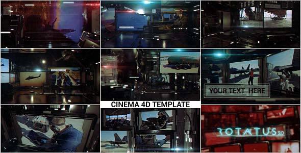 Cinema 4D Opener Template
