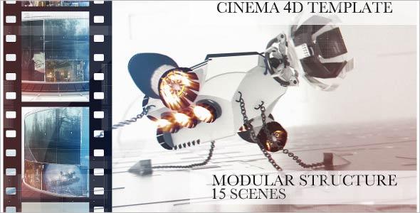Cinema $d Video Template