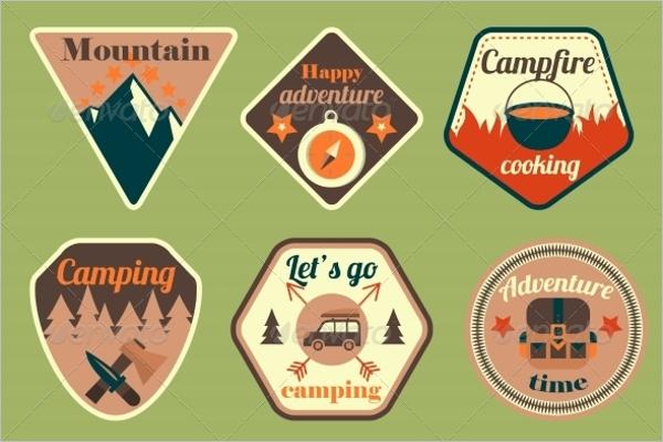 Clean Badges & Stickers Design