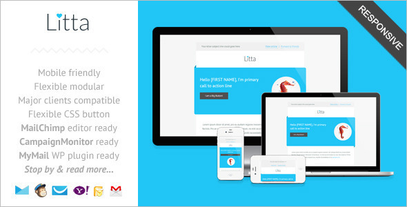 Clean Reactive Newsletter Theme