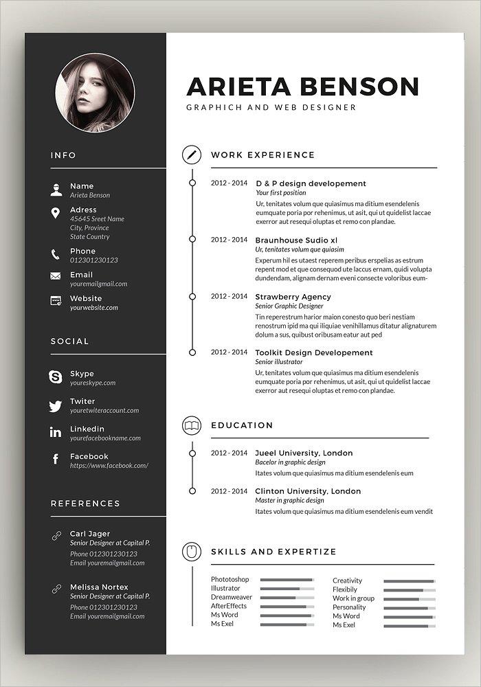 Clean Resume Design Template