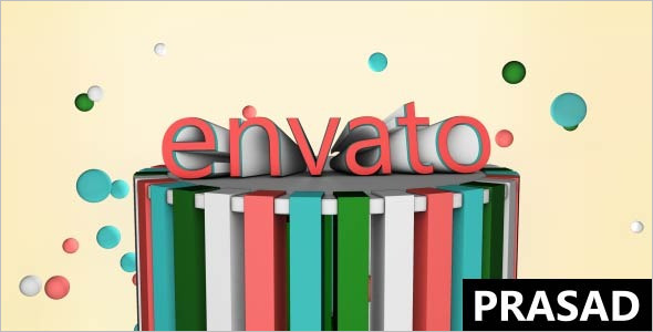 Colorfull Cinema 4D Template