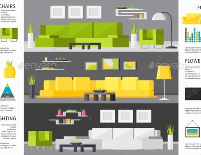 Conceptual Interior Decoration Brochure