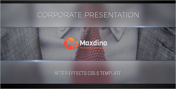 Corporate After Effects Preset Template